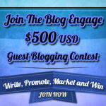 iTechCode is participating on BlogEngage Guest Blogging Contest