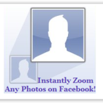 Zooming Facebook Photos without clicking on it!
