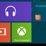 Create Windows 8 Shutdown, Restart and Log Off Shortcuts/Tiles