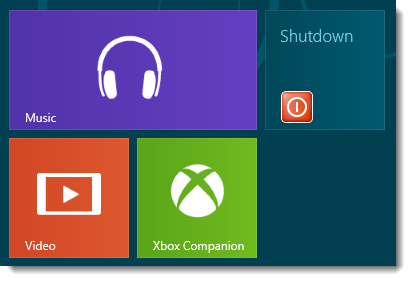 Windows 8 Shortcut Icon