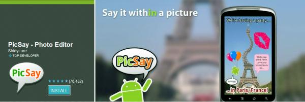PicSay Pro -Photo Editor