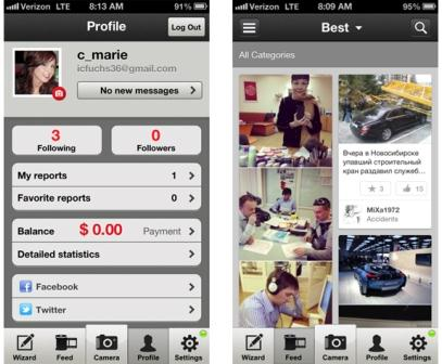 Clashot: Monetize your iPhone Photographs