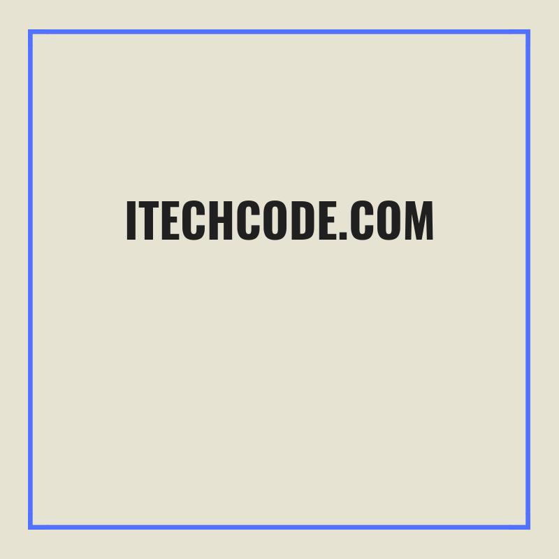 www.itechcode.com