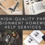 High-quality PHP Assignment Homework Help Services