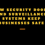 How Security Doors and Surveillance Systems Keep Businesses Safe